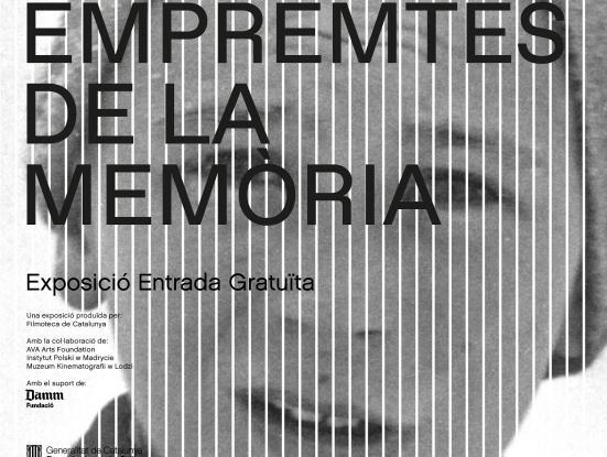 Cartell exposició 'Empremtes de la memòria'