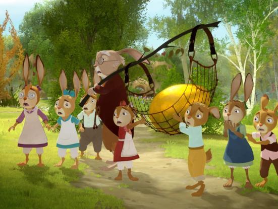 Die Häschenschule - Jagd nach dem goldenen Ei Rabbit School. Els guardians de l'ou d'or